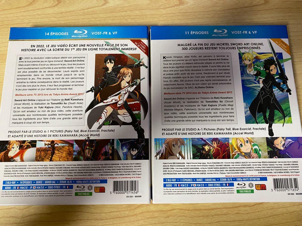 ソードアートオンライン SWORD ART ONLINE フランス版 Blu-ray SAO BD