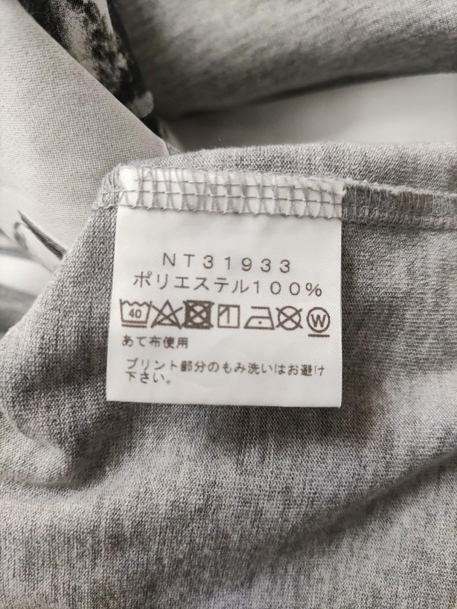 THE NORTH FACE ノースフェイス Tシャツ 半袖Tシャツ メンズ L  グレー 白 2枚セット