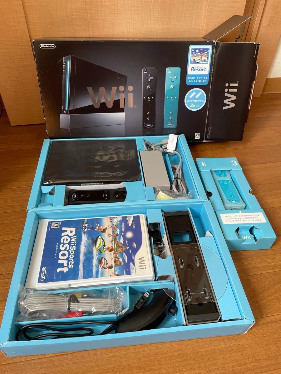 任天堂Nintendo Wii本体★Wiiスポーツリゾート同梱版