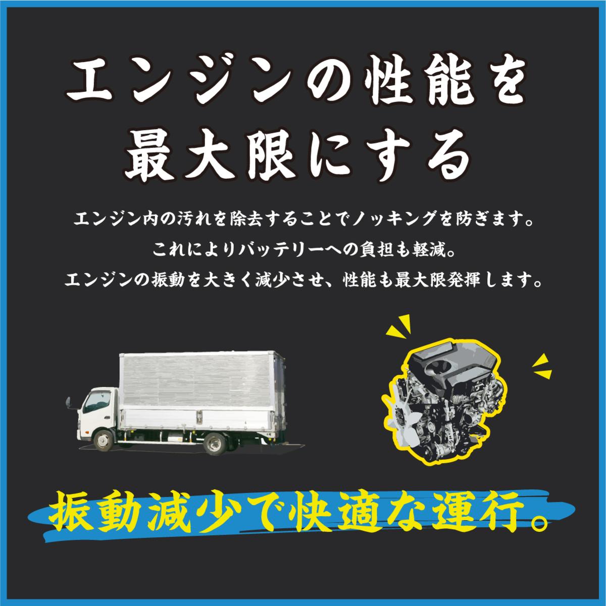 エンジン 振動 気になる方 必見 DPFドットコム 濃縮 煤殺し(すすごろし)ディーゼル 車 エンジン インジェクタ― 洗浄 クリーナー 200ml_画像5