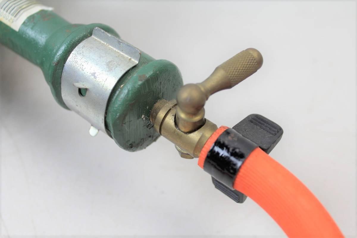 【ト静】プロパンガス LPガス SHOEI 鋳物コンロ 業務用ガス台 調整器 富士工器 RSA5 中古 現状品 動作未確認 GC029GCY86_画像5