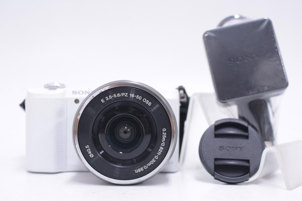 SONY ソニー α5100 パワーズームレンズキット ILCE-5100L E PZ 16-50mm F3.5-5.6 OSS SELP1650 ∫U8392