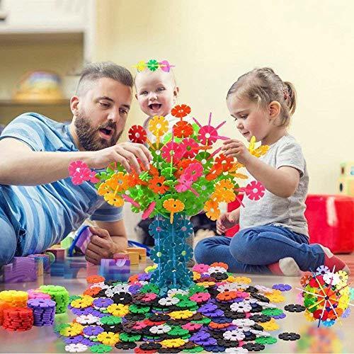 Tebrcon 約700ピース おもちゃ ブロック 子供 積み木 知育玩具 セット 男の子 女の子 はめ込み 立体 パズル_画像7