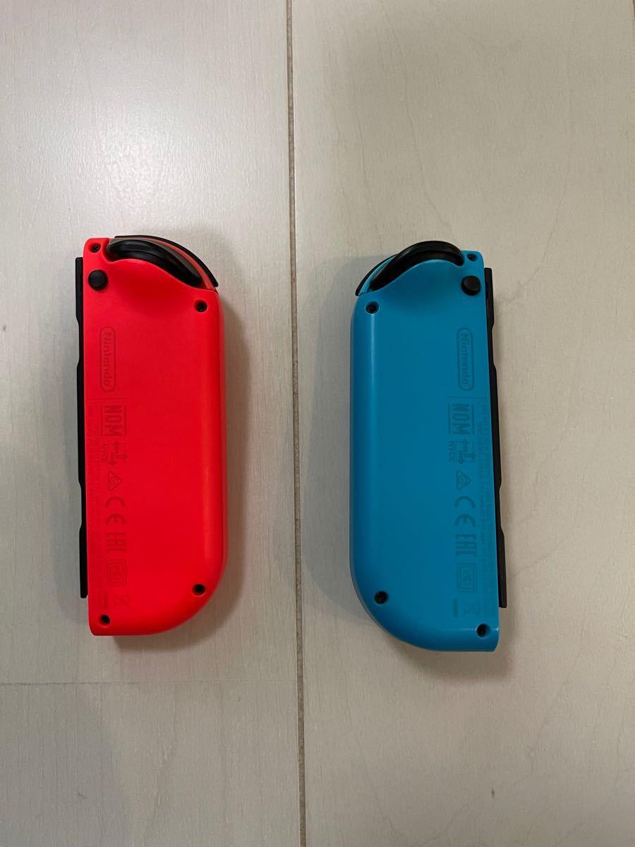 Nintendo Switch ジョイコン Joy-Con ネオンレッド ネオンブルー