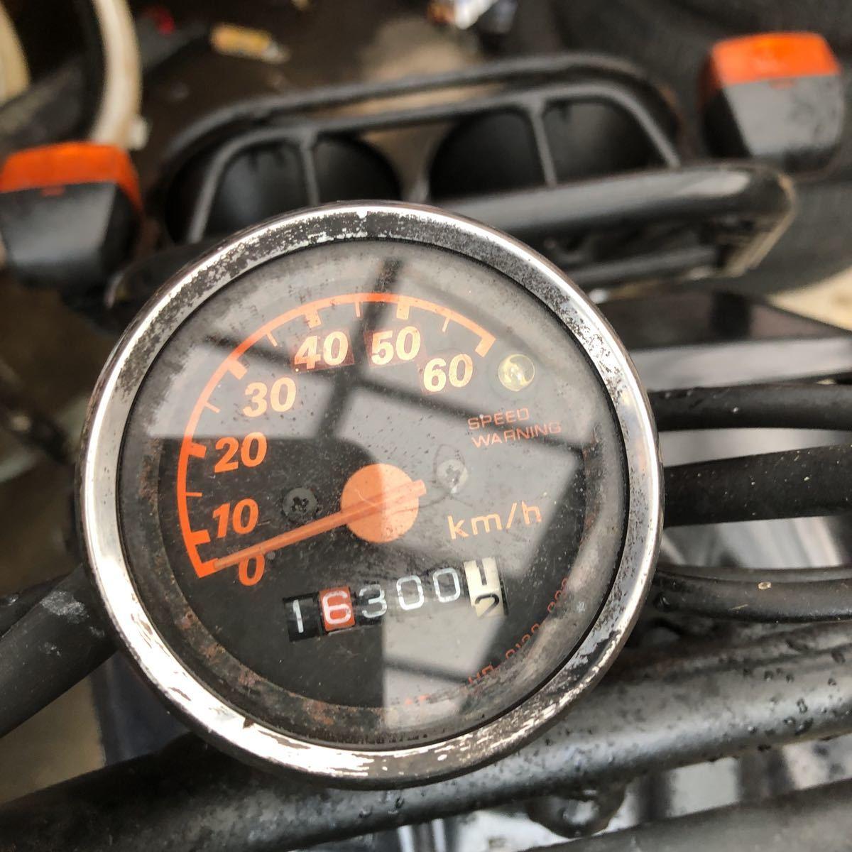 「鹿児島発 ホンダズーマー 不動ベース車両 新品パーツ付きでエンジン実働でした 要修理です」の画像3