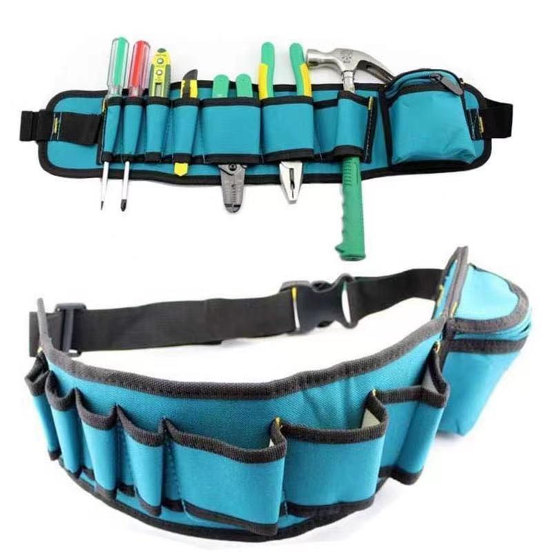 工具差し 大容量 ウエストポーチ 工具腰袋 工具 収納 多機能 道具袋 ドライバー入れ レンチ入れ 工具入れ DIY 道具箱 工具箱_画像1