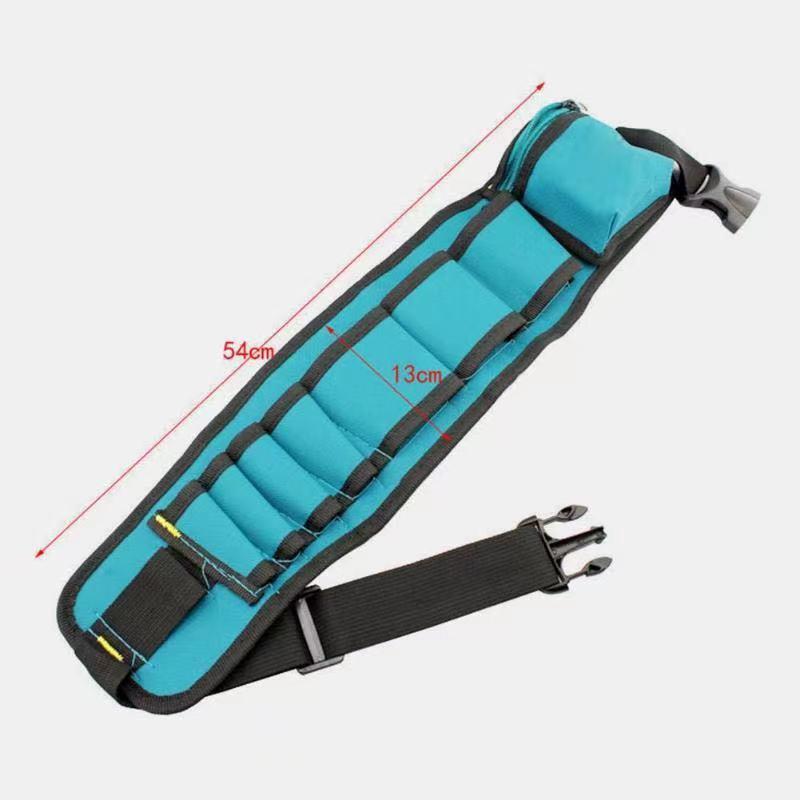 工具差し 大容量 ウエストポーチ 工具腰袋 工具 収納 多機能 道具袋 ドライバー入れ レンチ入れ 工具入れ DIY 道具箱 工具箱_画像5