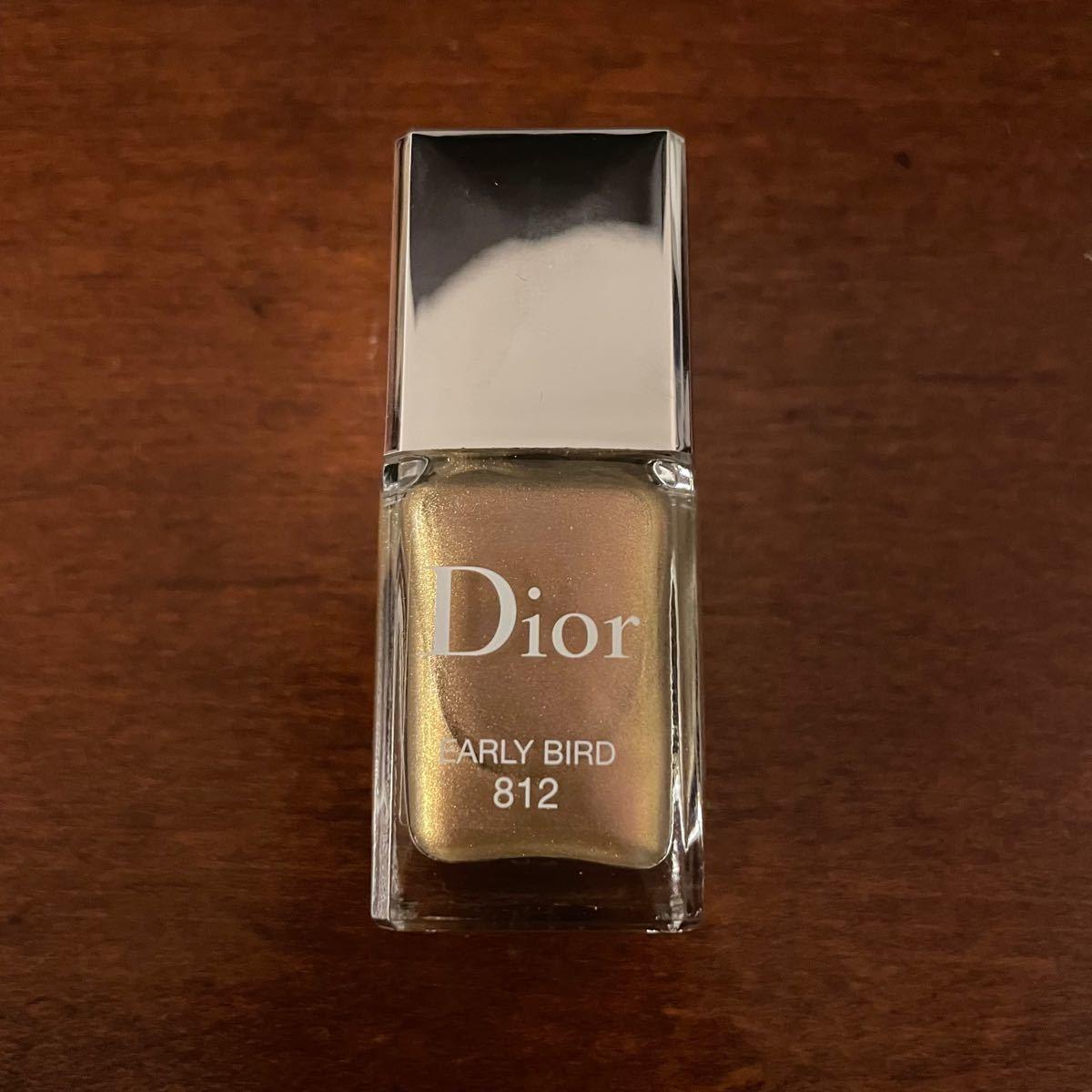 ディオール ヴェルニ 812 限定 ネイル 新品未使用 国内百貨店購入