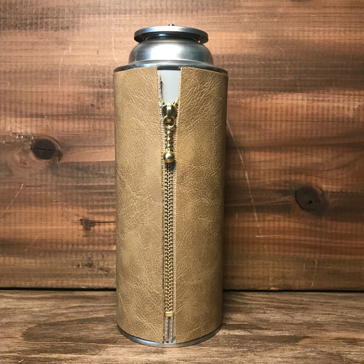 CB缶カバー サンドベージュ(黒)オルテガ