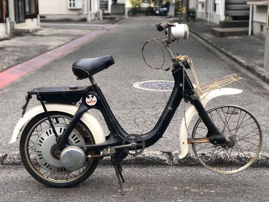 「HONDA ホンダ LITTLE HONDA リトルホンダ P25 モペット モペッド 自転車バイク レストアベース 部品取り 現状 109-21」の画像1