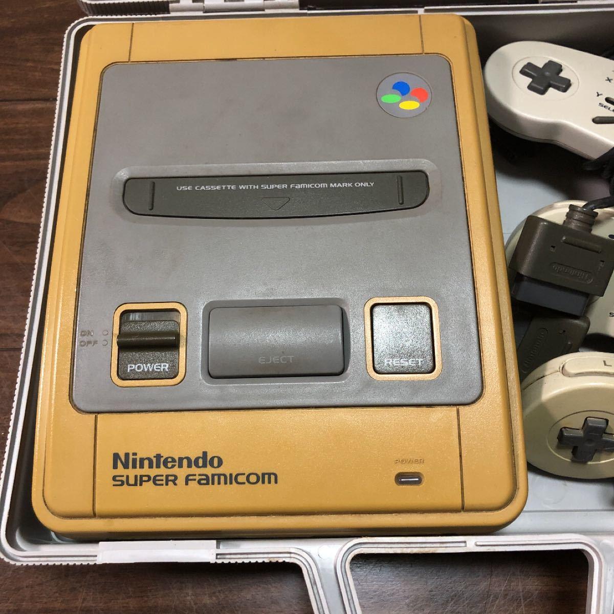 スーパーファミコン ファミコン本体 任天堂 当時物 ジャンク品