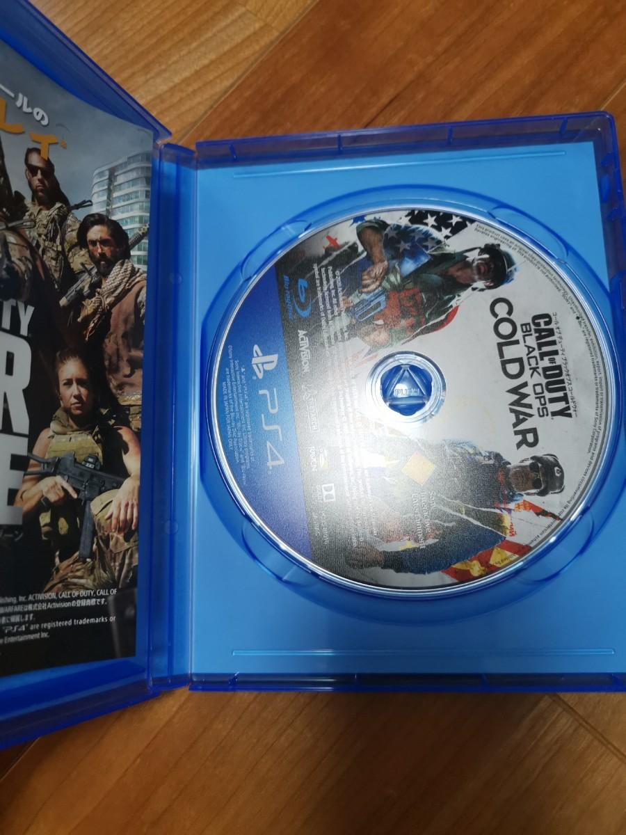 PS4 コールオブデューティ ブラックオプス コールドウォー
