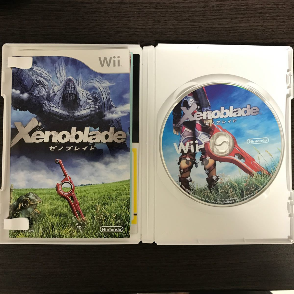 wii  ゼノブレイド Wii