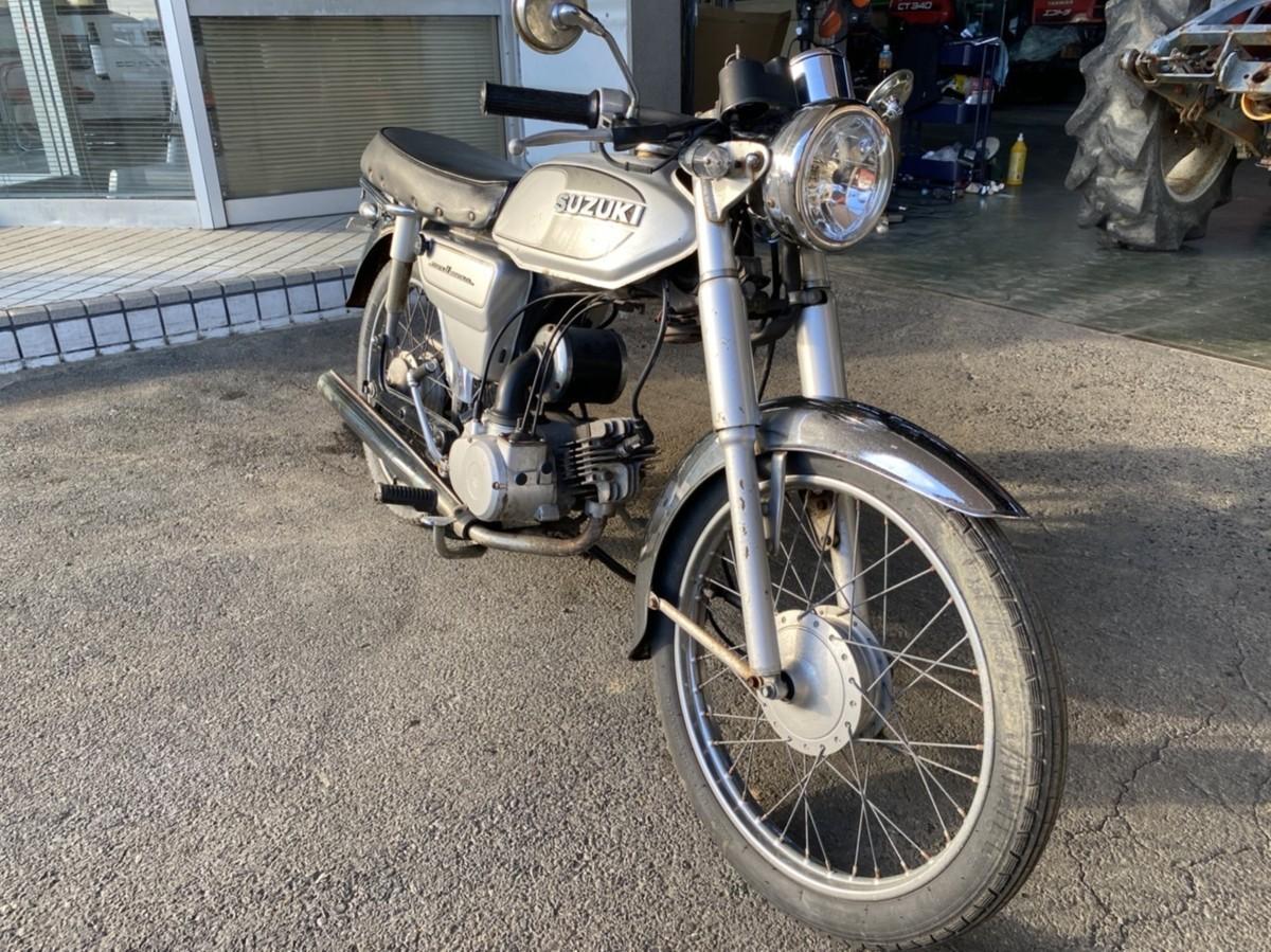「バイク COLLEDA 50CC スズキ SUZUKI 福岡 中古 BH-001」の画像2