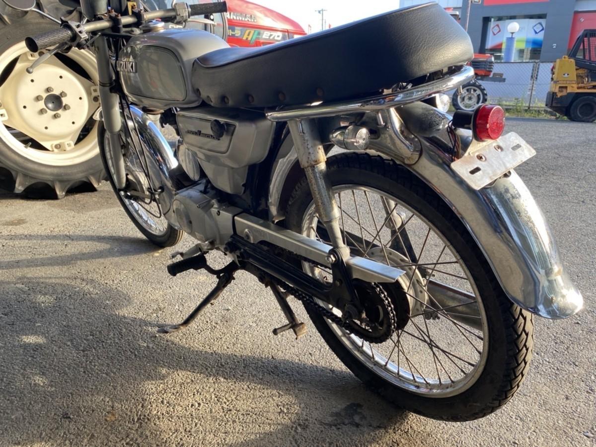 「バイク COLLEDA 50CC スズキ SUZUKI 福岡 中古 BH-001」の画像3