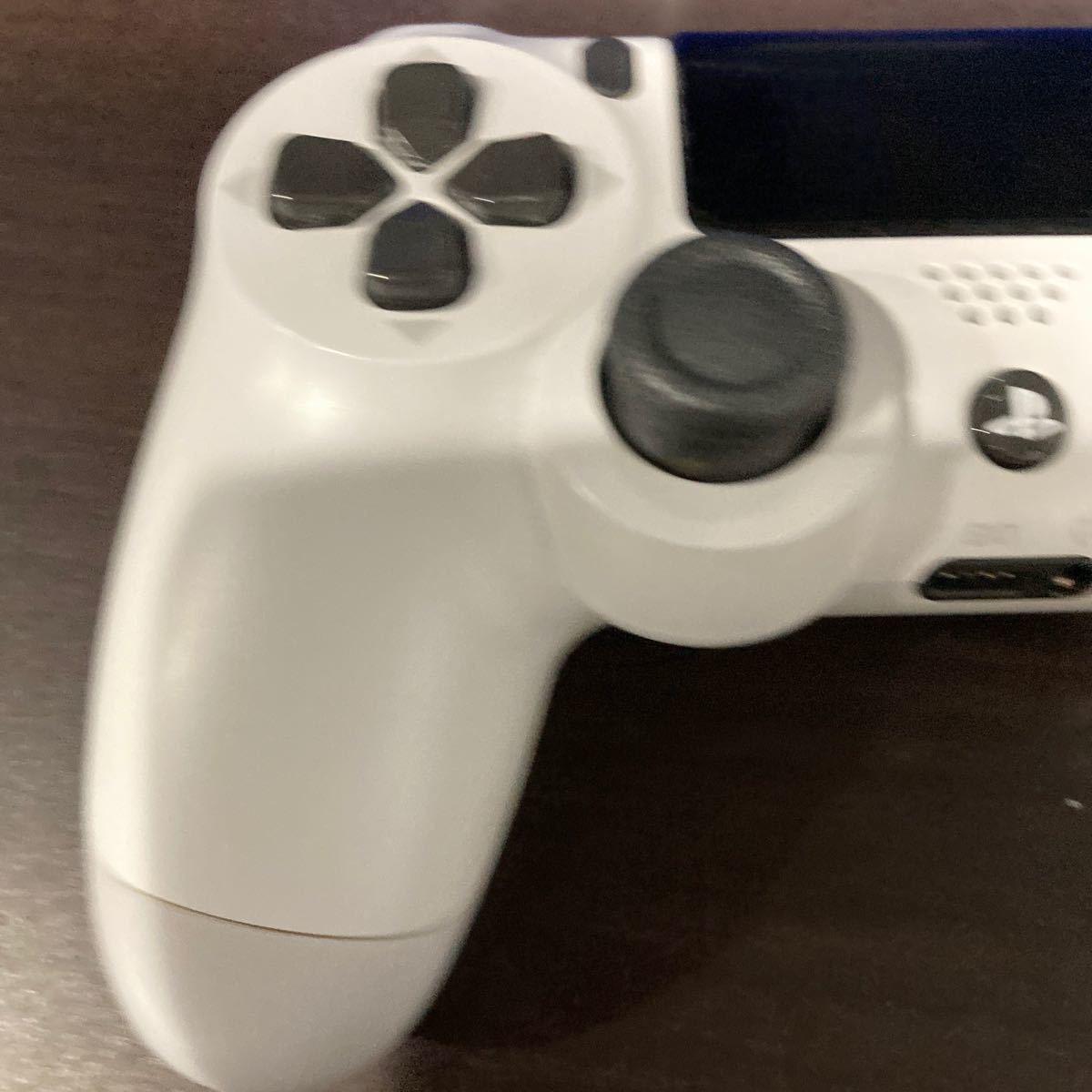 PS4 ワイヤレスコントローラー(DUALSHOCK4) グレイシャー・ホワイト