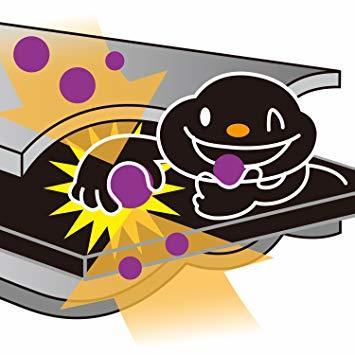 グレー 薄型コンパクト アストロ 羽毛布団 収納袋 シングル用 グレー 不織布 活性炭消臭 コンパクト 171-41_画像7