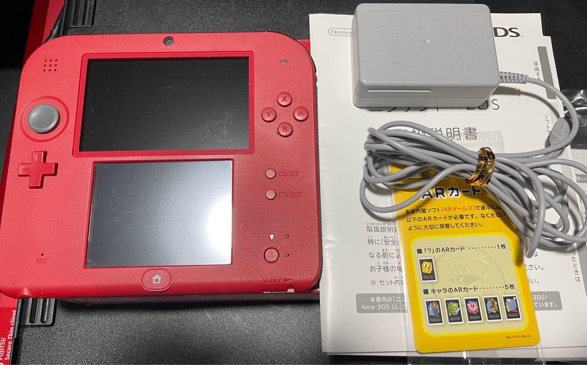 最終値下 ニンテンドー2DS本体(レッド) 任天堂 ニンテンドー2DS 任天堂2DS