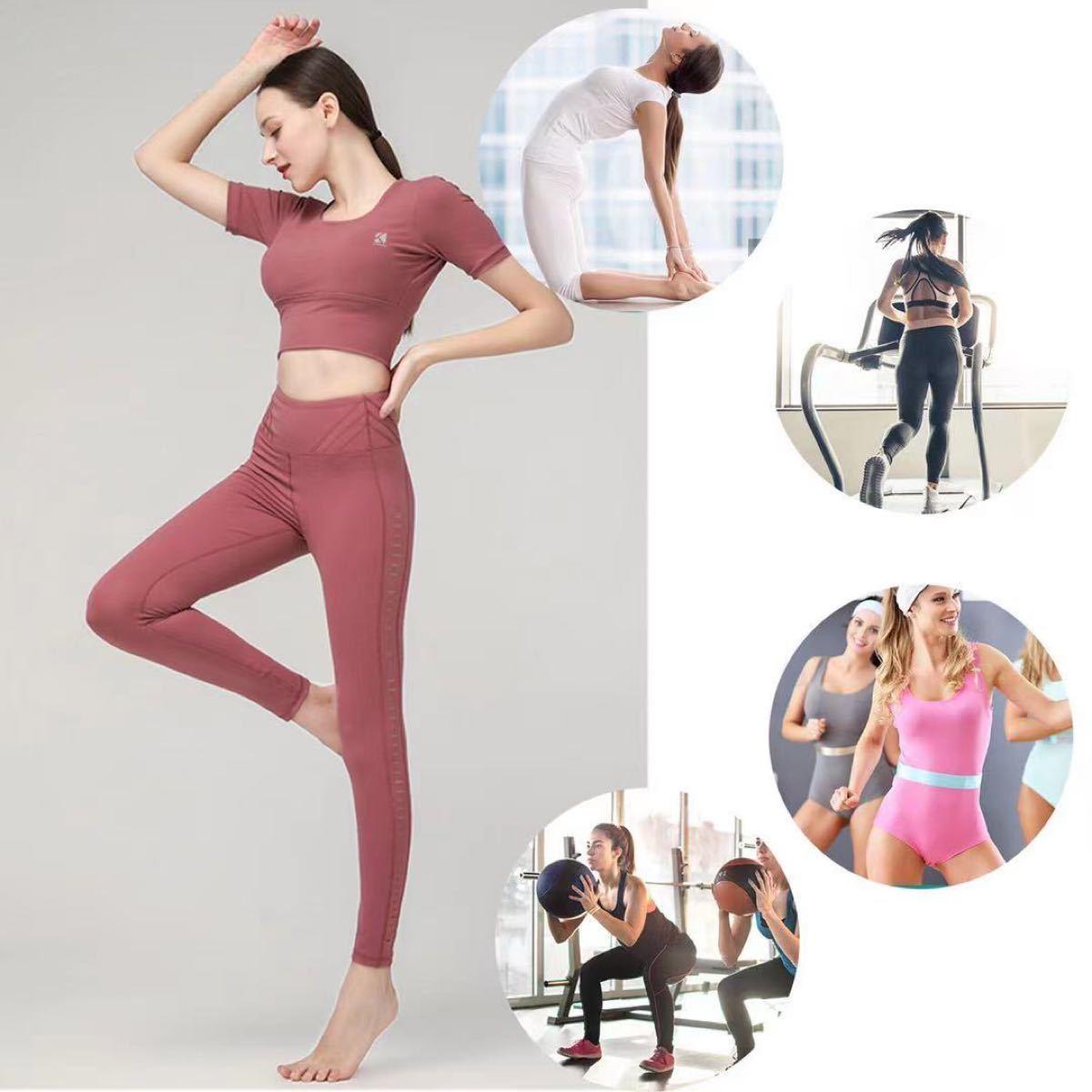 トレーニングウェア ジム ヨガ ダンス ランニング トップス 新品