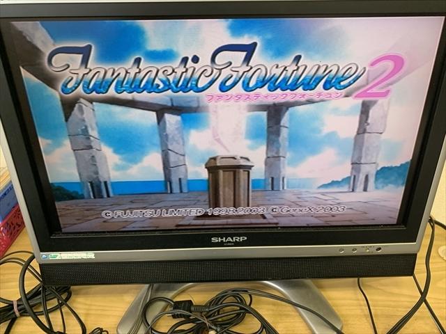 21-PS2-603 プレイステーション2 ファンタスティックフォーチュン2 動作品 PS2 プレステ2