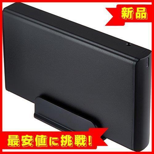 【大特価】 USB3.0 玄人志向 HDDケース(マットブラック) マットブラック 3.5型対応 USB3.0接続 付属_画像1