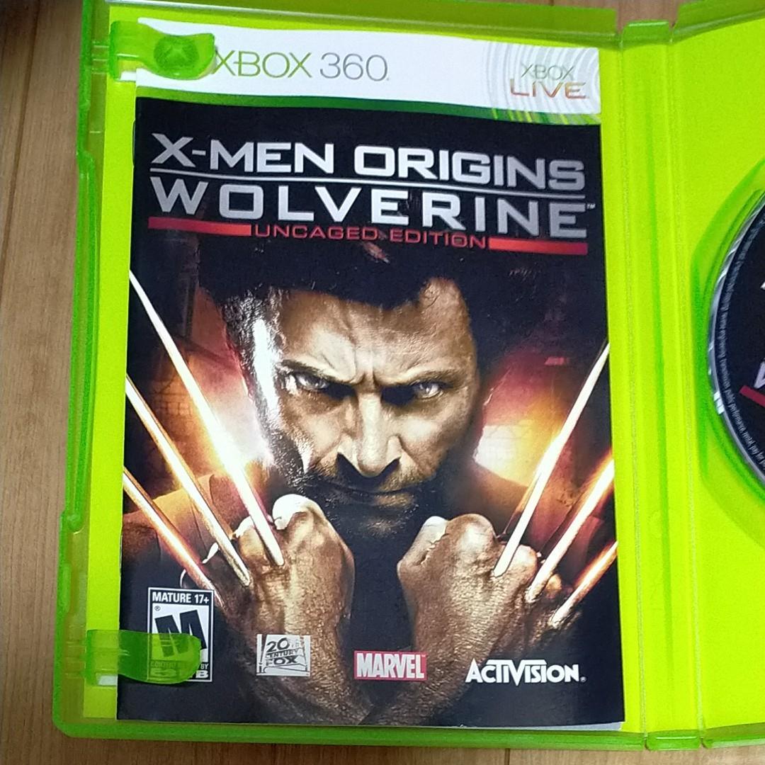 XBOX360 ソフト XMEN