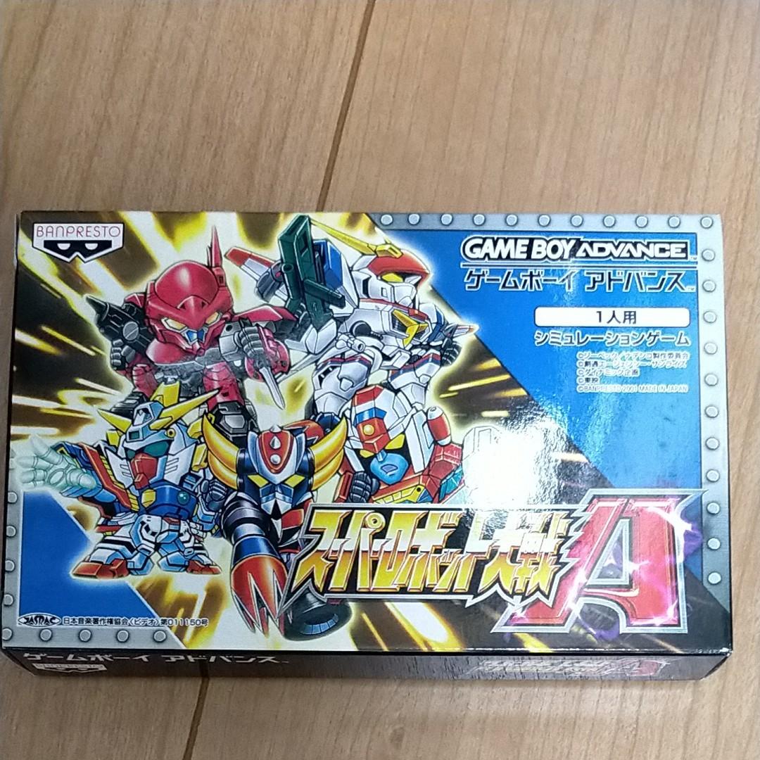 GBA ゲームボーイアドバンス スーパーロボット大戦A