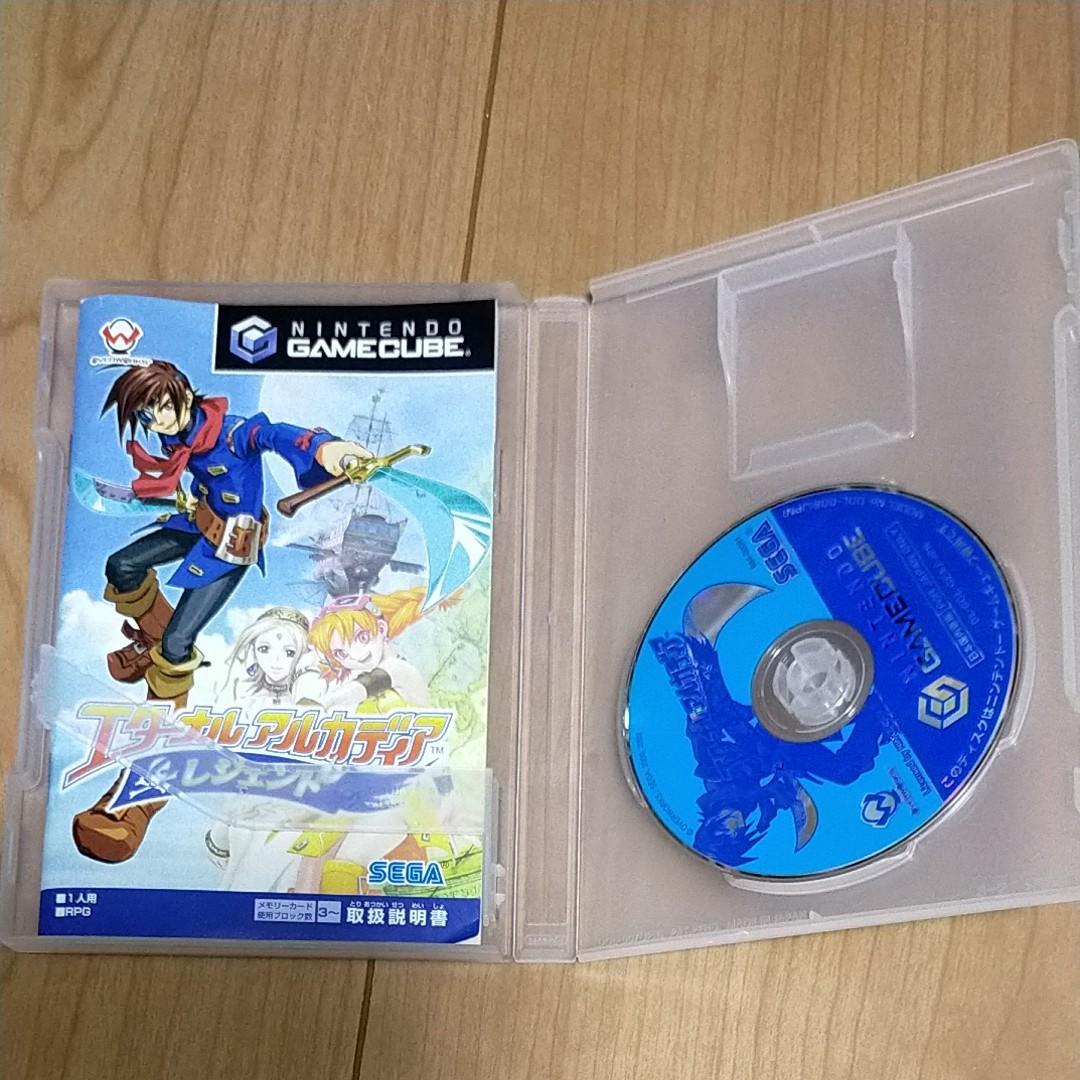 ゲームキューブソフト エターナルアルカディア