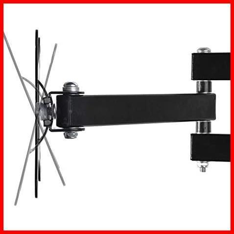 モニター テレビ壁掛け金具 10-30インチ LCDLED液晶テレビ対応 アーム式 回転式 左右移動式 角度調節 [並行輸入品]_画像2
