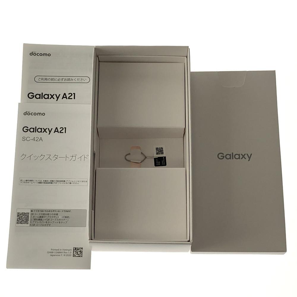 【中古美品】 GALAXY A21 SC42A 未使用品 DOCOMO ドコモ 〇判定 【110-210909-MT-32-HOC】_画像5