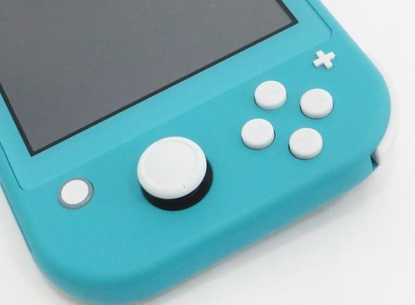 ○美品【任天堂】Nintendo Switch Lite/ニンテンドースイッチライト本体 HDH-S-BAZAA ターコイズ_画像4