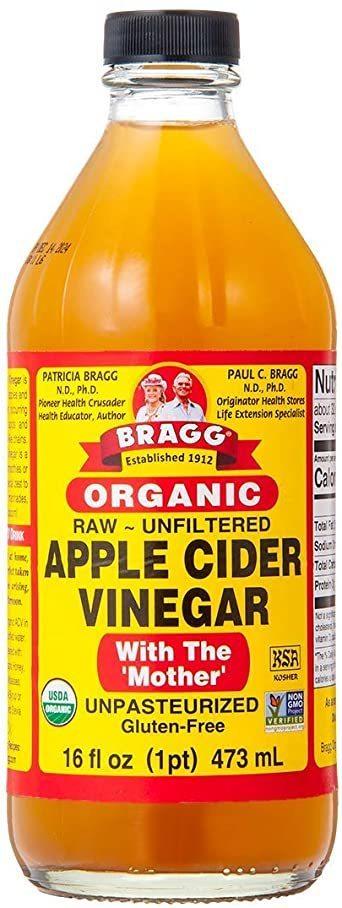 ●新品未使用●Bragg オーガニック アップルサイダービネガー 【日本正規品】りんご酢 473ml_画像1