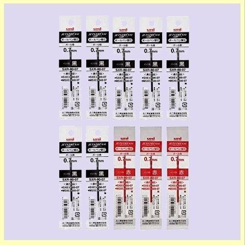 ☆★特別価格★☆新品☆未使用★ 油性ボ-ルペン替芯 三菱鉛筆 L-Z5 ジェットストリ-ム 多色多機能 0.7mm 黒7/赤3 SXR8007.24/15_画像1