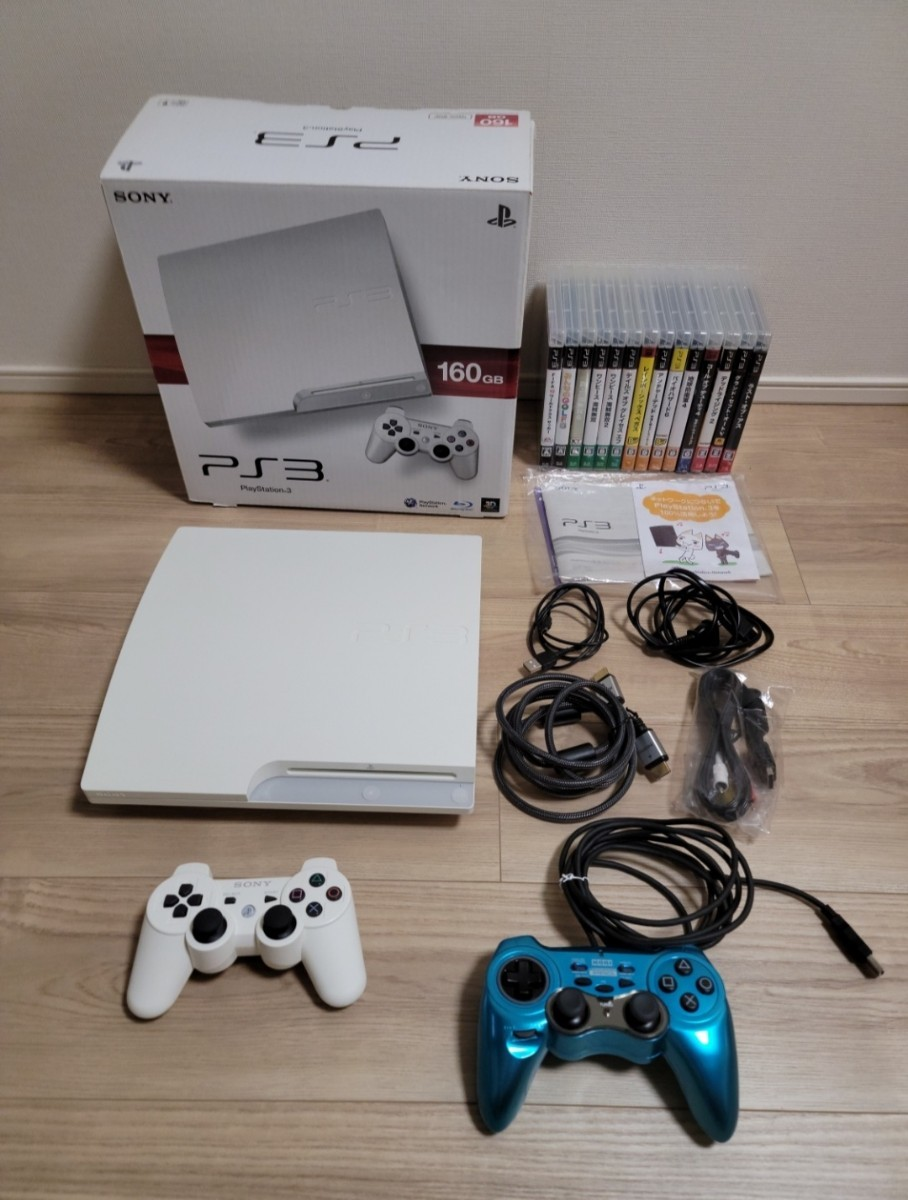 PS3ソフト SONY PS3 CECH-3000A /ゲームソフト14