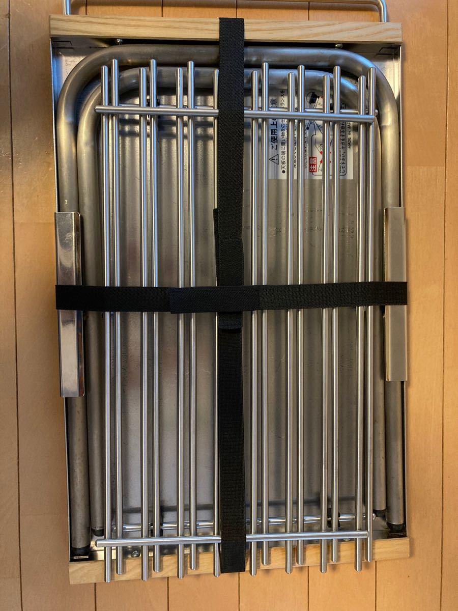 ユニフレーム 焚き火テーブル用 ステンレスラック2枚セット