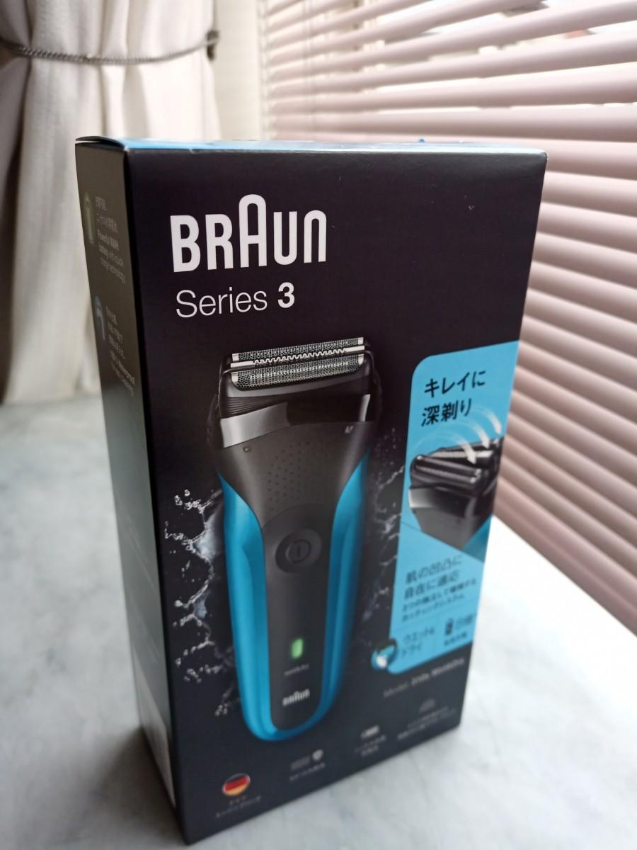 BRAUN シェーバー Series3 310s新品、未開封品