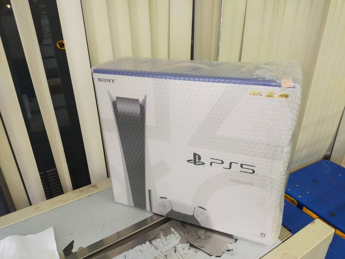 【新品・未使用・送料無料】SONY Play Station 5 プレステ5 PS5 本体 ディスクドライブ搭載モデル プレイステーション5 _画像1