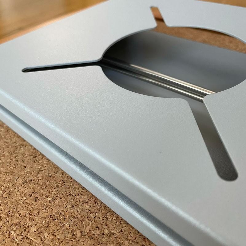 遮熱テーブル ST-310 対応 イワタニ シングルバーナー シルバーグレー