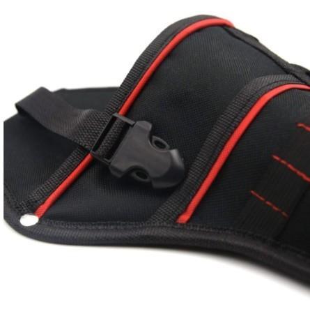 Da473☆ 多機能 防水 ドリルホルスター 工具腰袋 ウエストツールバッグ ドライバー用  ポーチバッグ_画像4