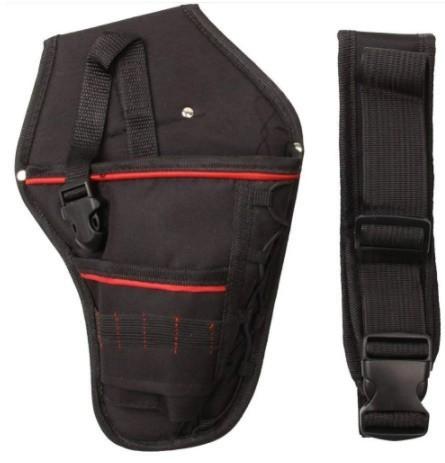 Da473☆ 多機能 防水 ドリルホルスター 工具腰袋 ウエストツールバッグ ドライバー用  ポーチバッグ_画像2