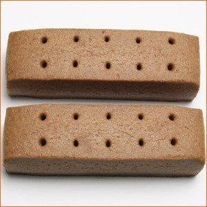 【12個セット】まとめ買い 大塚製薬 カロリーメイト ロングライフ3年・長期保存非常食・チョコレート味 一箱2本入り_画像3