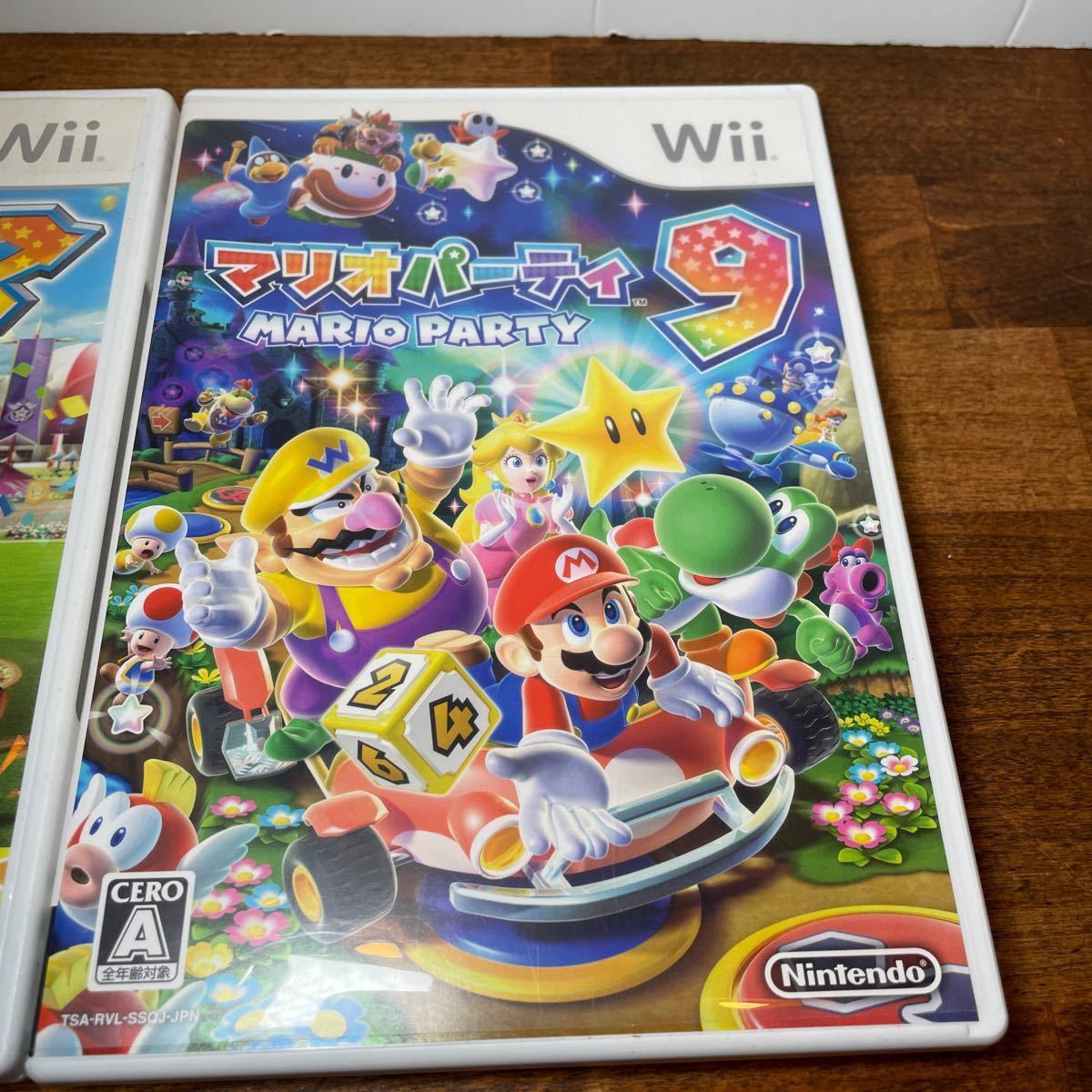 マリオパーティ8 マリオパーティ9 Wiiソフト 任天堂