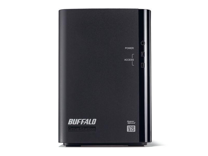 ★送料無料★美品★BUFFALO 6TB USB3.0接続 ミラーリング対応 外付けハードディスク 6TB HD-WL6TU3/R1J