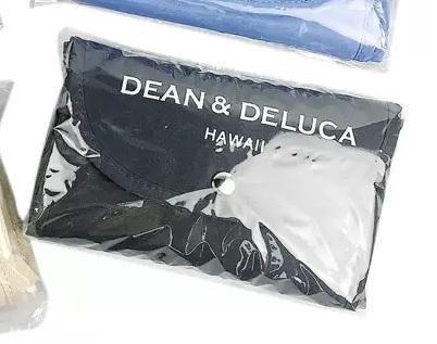 DEAN&DELUCA/ディーン&デルーカ/グレー/トートバッグ/エコバッグ/ショッピングバッグ/ハワイ限定/Hawaii/折りたたみ