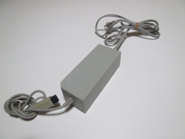 AC002《送料無料 即日発送 動作確認済》Wii ACアダプタ RVL-002  任天堂 純正 ACアダプター
