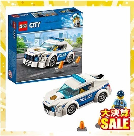 【 早い者勝ち】レゴ(LEGO) シティ ポリスパトロールカー 60239 ブロック おもちゃ 男の子 車_画像1