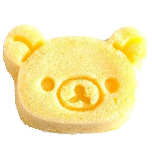 リラックマ 2.5×14×17.8cm 貝印 kai シリコン カップケーキ型 リラックマ & キイロイトリ DN0203_画像3