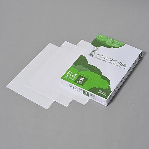コピー用紙 B4 ホワイトコピー用紙 高白色 紙厚0.09mm ATK903 500枚_画像2