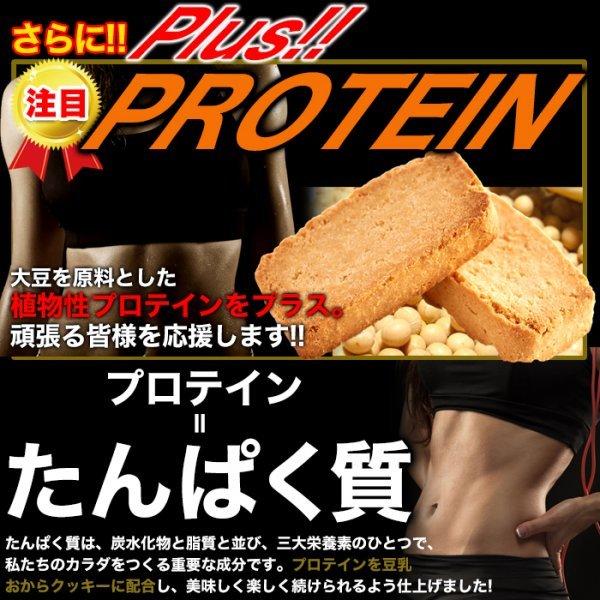 【複数購入推奨】楽しく美しく!!ソイプロテインplus!!豆乳おからプロテインクッキー1kg 《常温便》_画像3