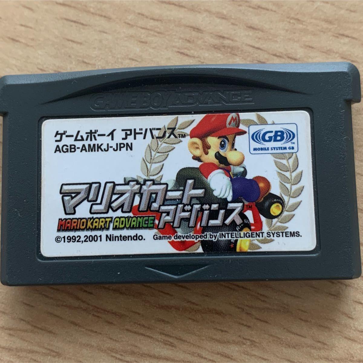 GBA マリオカートアドバンス ゲームボーイアドバンス ソフト ゲームボーイアドバンスソフト